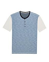 Kayak Mighty Button Neck T Shirt