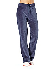 Body Star Velour Joggers Short Leg