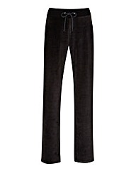 Label Be Velour Jogger Regular Length