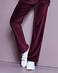 Velour Jogger Regular Length