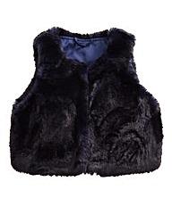 Barneys Girls Faux Fur Gilet (7-16 yrs)