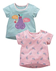 KD BABY Girls Pack of Two Tops