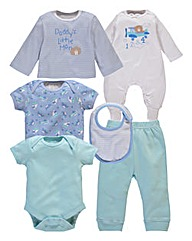 KD BABY Boys 6 Piece Starter Set