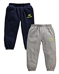 Ecko Boys Pack 2 Fleece Pants (2-7years)