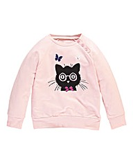 KD MINI Girls Fleece Jumper