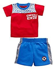 Converse Boys Top and Shorts Set