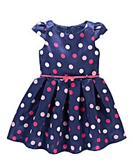 KD EDGE Spot Print Dress (8-13 yrs)