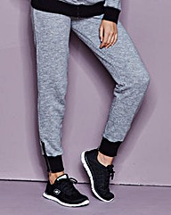 Cuffed Jogger with Zip Detail