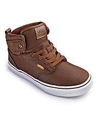 Vans Leather Hi Tops