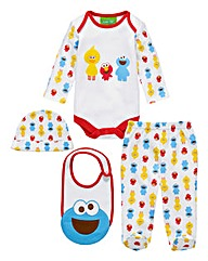 Cookie Monster Four Piece Set