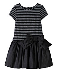 KD MINI Striped Bow Dress (2-8 yrs)
