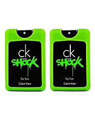 CK Shock For Him 20ml BOGOF