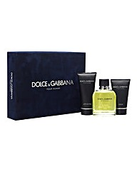Personalised Dolce & Gabanna Homme Set