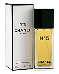 Chanel No5 50ml Eau de Toilette Flacon