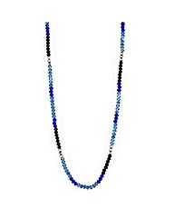 Mood Mixed Glass Bead Rope Necklace