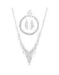 Mood Diamante Crystal Trio Set
