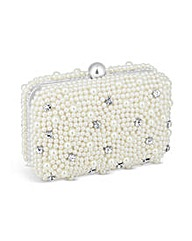 Jon Richard Pearl and Crystal Clutch Bag