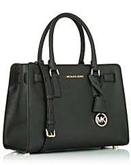 Michael Kors Diln Stchl Black Tote Bag