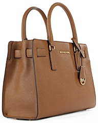Micheal Kors D Satchel Bag Tan