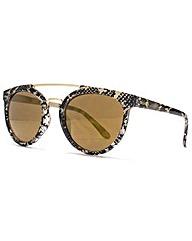 Miss KG Metal Bridge Round Sunglasses