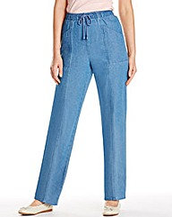 Comfort Fit Jeans Length 25in