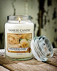 Yankee Candle Wedding Day Jar Candle