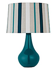 Ribbon Stripe Table Lamp