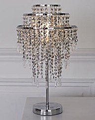 Beaded Sparkle Table Lamp