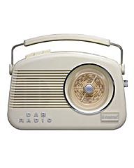 Steepletone DAB Radio Cream