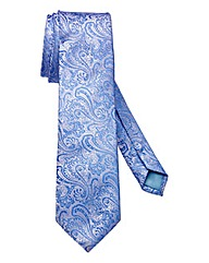 Williams & Brown London Paisley Silk Tie