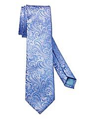 Williams & Brown London Paisley Silk Tie