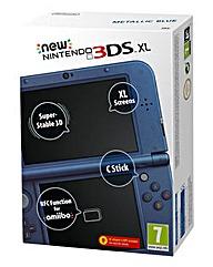 New Nintendo 3DS XL Blue