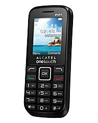 Alcatel OT10:16 Black including O2 Sim