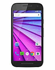 Motorola Moto G 3rd Gen Black inc O2 Sim
