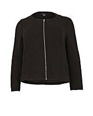 Samya Textured Zip Jacket