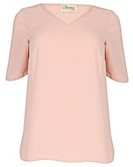 Sienna Couture V Neck Top