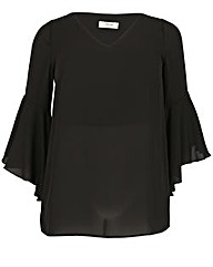 Sienna Couture Bell Sleeve Top