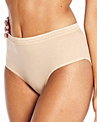 Naturally Close 10 Pack Hi Leg Briefs