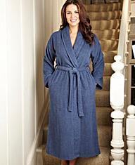 Pretty Secrets Towelling Wrap Gown 42in