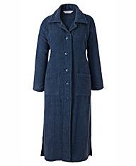 Pretty Secrets Towelling Button Gown L48