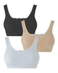 3 Pack Camilace Comfort Tops