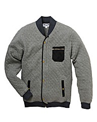 Label J Quilted Bomber Jacket Reg