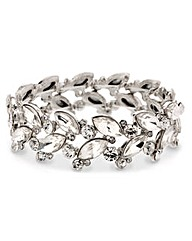 Mood Crystal Navette Stretch Bracelet