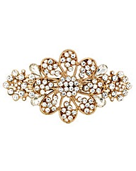 Mood Crystal Pave Flower Barette