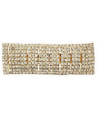Mood Crystal Pave Rectangle Barette