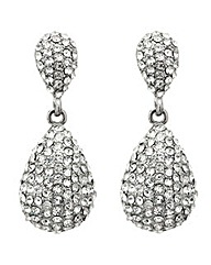 Mood Pave Crystal Teardrop Earring