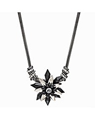 Mood Statement Beaded Flower Necklace