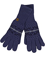 Brakeburn Knitted Gloves Navy