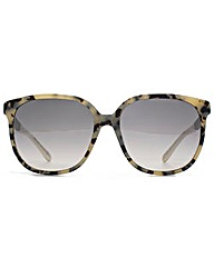 Jimmy Choo Glitter Temple Sunglasses