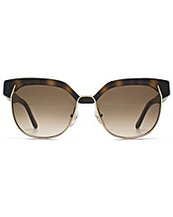 Chloe Round Metal Mix Sunglasses